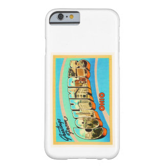 Columbus Ohio OH Old Vintage Travel Souvenir Barely There iPhone 6 Case