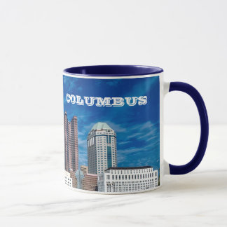 Columbus Ohio Panoramic Mug