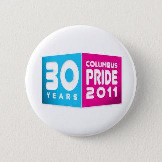Columbus Ohio Pride 2011 2 Inch Round Button
