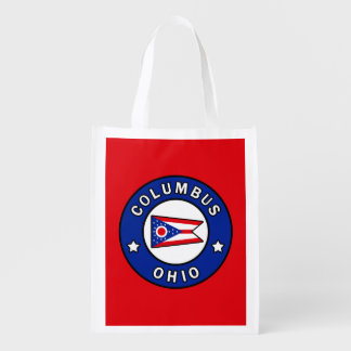 Columbus Ohio Reusable Grocery Bag
