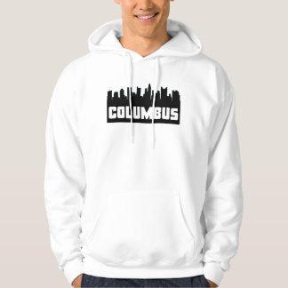 Columbus Ohio Skyline Hoodie