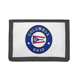 Columbus Ohio Tri-fold Wallet