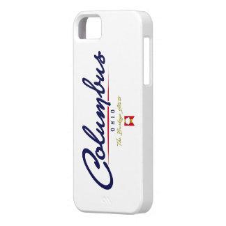 Columbus Script iPhone 5 Case