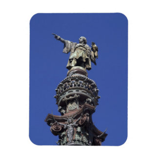 Columbus statue, Barcelona Rectangular Photo Magnet