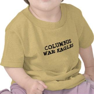 COLUMBUS WAR EAGLES BABY TEE