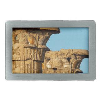 Column Capitals, Medinet Habu, Egypt Belt Buckles