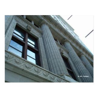 Column Closeup Postcard