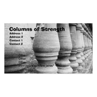 Columns of Strength Business Cards