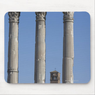 Columns of the Temple of Castor and Pollux with Mouse Pad