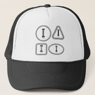 columns trucker hat