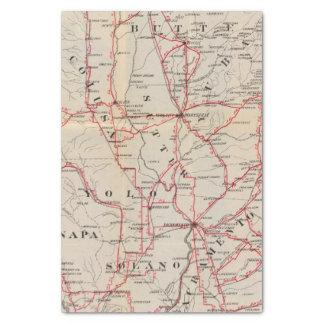 Colusa, Yolo, Napa, Butte, Yuba, Sutter, Solano Tissue Paper