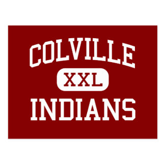 Colville - Indians - Senior - Colville Washington Postcard