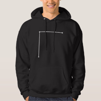 Coma Berenices Asterism Hooded Sweatshirt