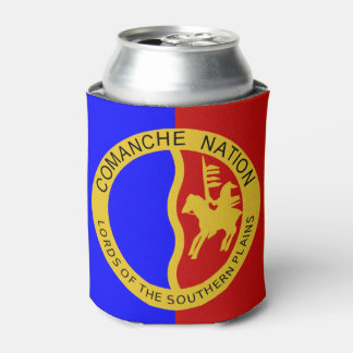 Comaanche Nation Flag Can Cooler