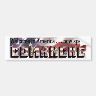 Comanche Bumper Sticker