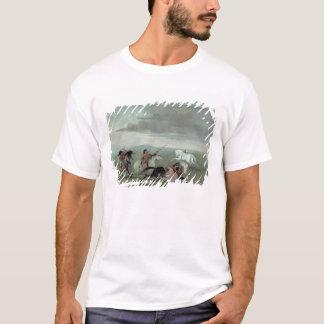 Comanche Feats of Martial Horsemanship, 1834 (oil T-Shirt
