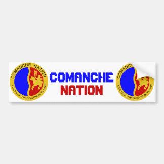 Comanche Nation Bumper Sticker