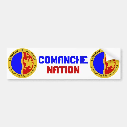 Comanche Nation Bumper Sticker