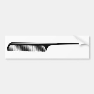 Comb Bumper Sticker