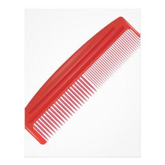 comb comb letterhead