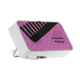 Comb Hairdresser Travel Speaker