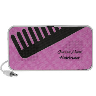Comb Hairdresser Travelling Speakers