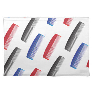 comb pattern placemat