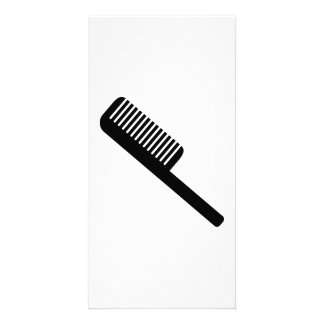 Comb Picture Card