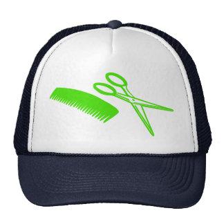 Comb & Scissors Trucker Hats