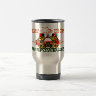 Combat 12B Engineer OEF Travel Mug