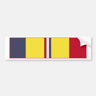 Combat Action Ribbon Bumper Sticker
