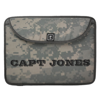 Combat ACU Military Pattern Camouflage Destiny Sleeves For MacBooks