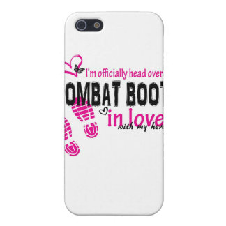 Combat Boot Love Case For iPhone 5/5S