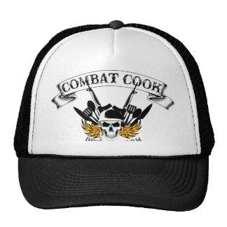 Combat Cook - Desert Storm Trucker Hat