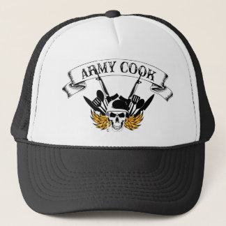Combat Cook Trucker Hat