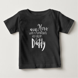 Combat Daddy Quote Kids Tee