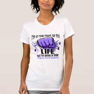 Combat de mon Cancer oesophagien de la vie 2 T-shirts