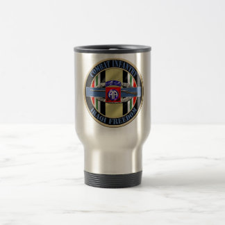 Combat Infantry OIF 82nd Airborne Travel Mug