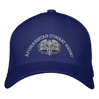 Combat Medical Badge & Afghan Campaign Ribbon Hat