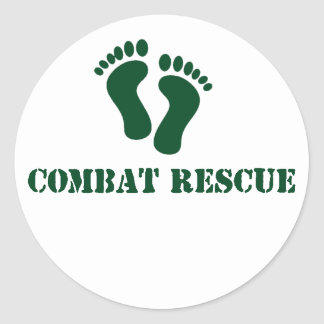 Combat Rescue sticker