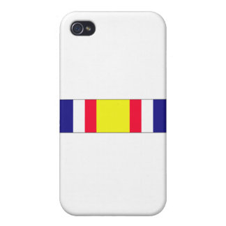 Combat Service Commemorative Ribbon Case For iPhone 4