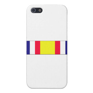 Combat Service Commemorative Ribbon iPhone 5 Covers