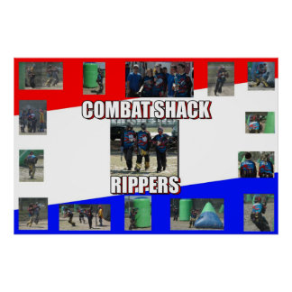 Combat Shack Rippers Poster