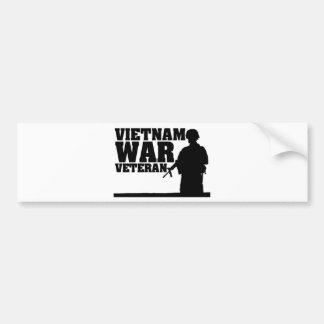 Combattant de Vietnam Autocollant De Voiture