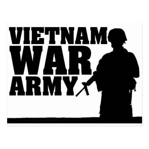 Combattant de Vietnam Carte Postale