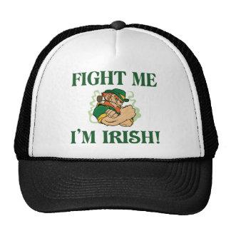 Combattez-moi que je suis irlandais casquette