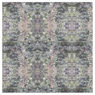 Combed Cotton Fabric - Clematis Flower Fractal 714