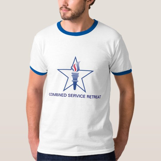 Combined Service Retreat Ringer Tee