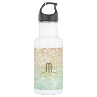 Combo Glitter Gradient Opal Gold ID435 532 Ml Water Bottle