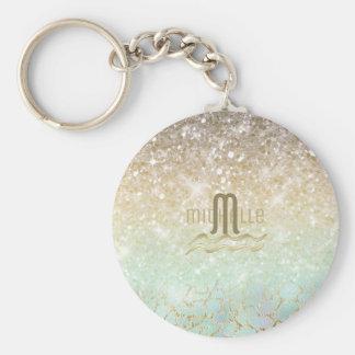 Combo Glitter Gradient Opal Gold ID435 Keychain